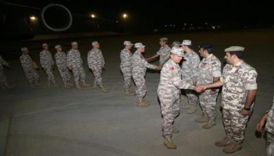 وصول الدفعة السادسة من القوات التركية إلى الدوحة ( صوره)