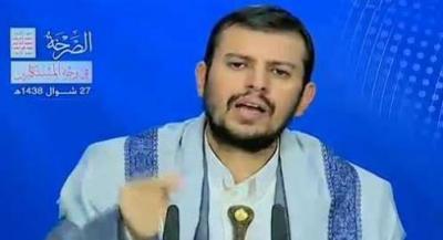عبد الملك الحوثي يحذر المؤتمريين من الإستقطابات ويعلن إستعداد مقاتليه للمشاركة إلى جانب المقاومة الفلسطينية واللبنانية
