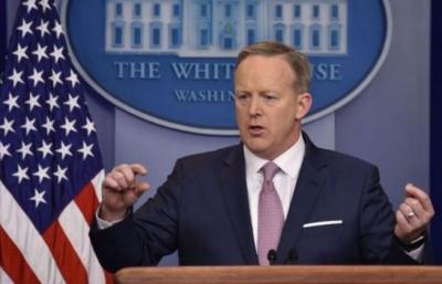 استقالة المتحدث باسم البيت الأبيض