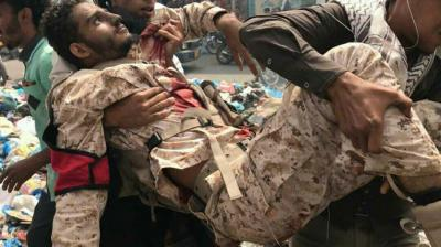 مقتل نجل قائد الشرطة العسكرية في تعز ( صوره)
