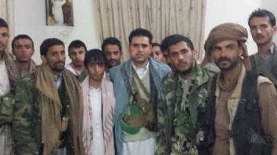 """القيادي الحوثي """" العرجلي """"  يقتحم مركز الطوارئ الإقليمي بصنعاء"""