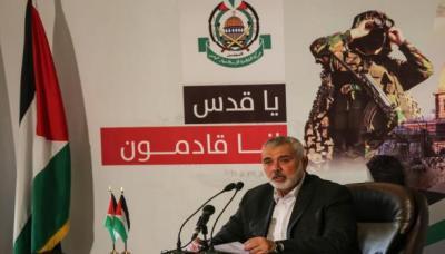هنية يدعو إلى اجتماع فلسطيني موسّع بعد انتصار القدس