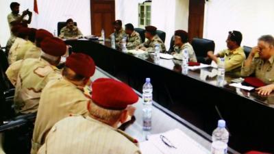 إجتماع لقادة وحدات القوات المسلحة يناقش آليات وبرامج الارتقاء بالجاهزية القتالية