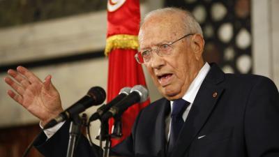 السبسي يكشف موقف بلاده من الأزمة الخليجية والليبية