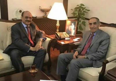 العمراني يبحث مع وزير الداخلية الاردني التسهيلات المقدمة لليمنيين