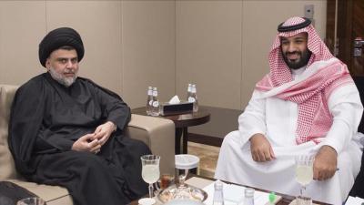 """الزعيم الشيعي """" الصدر """" يكشف مالذي دار بينه وبين ولي العهد السعودي محمد بن سلمان"""