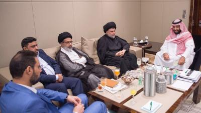 """الزعيم الشيعي """" الصدر """" يأمر أتباعه برفع الشعارات المناهضة للسعودية من الشوارع"""