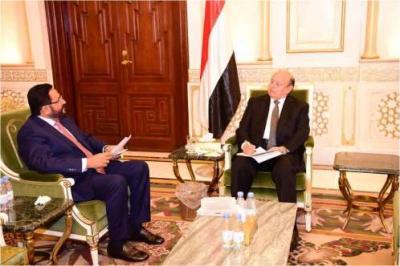 الرئيس هادي يوجه بتنفيذ عدداً من المشاريع في مأرب منها جامعة إقليم سبأ ومطار مأرب