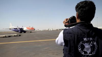 التحالف يوافق على نقل إمدادات الطائرات من مطار عدن إلى مطار صنعاء