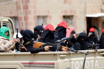 ظاهرة تجنيد النساء تتزايد من قبل الحوثيين في صنعاء