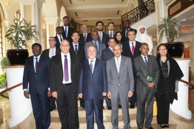المخلافي يلتقي السفراء العرب المعتمدين في أديس ابابا