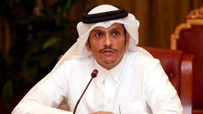 في زيارة رسمية غير معلنة.. وزير خارجية قطر يصل الكويت