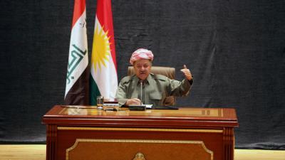 بارزاني: شعب كردستان قرر الاستفتاء بعد أن أنهكته التجارب الفاشلة