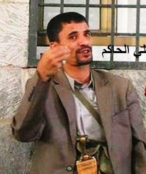 """صدور قرار للمجلس السياسي  بصنعاء بتعيين القيادي الحوثي """" أبو علي الحاكم """" رئيساً للإستخبارات"""