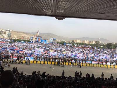 """الرئيس السابق """" صالح """" يخيّب آمال أنصاره .. وردود أفعال مؤتمرية غاضبة"""