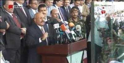 """مراوغات صالح في """" ميدان السبعين""""  تؤجل الخلاف مع الحوثي"""