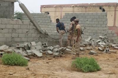 قوات الجيش تحكم سيطرتها على مدينة ميدي ( صور)