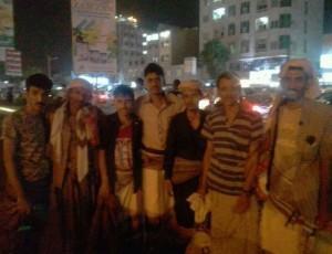 الحوثيون يفرجون عن عدد من افراد حراسة الرئيس هادي ضمن صفقة تبادل غير معلنة ( الأسماء)