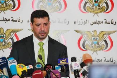 """ناطق الحكومة  يكشف معلومات جديدة عن علاقة الحكومة الشرعية بقيادات حزب المؤتمر جناح الرئيس السابق """" صالح"""""""