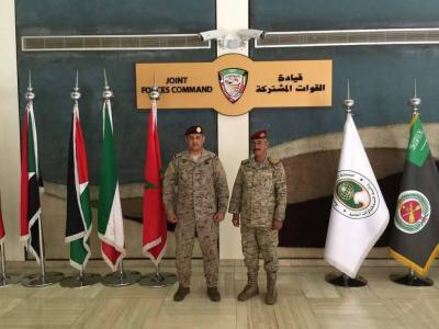 رئيس الأركان اليمني يبدأ ممارسة مهامه بلقاء قائد القوات المشتركة للتحالف العربي الأمير فهد بن تركي ( صوره)