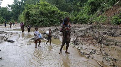 ناشط روهنغي: ميانمار تخطط لطرد مسلمي أراكان وجعلها مستوطنة بوذية