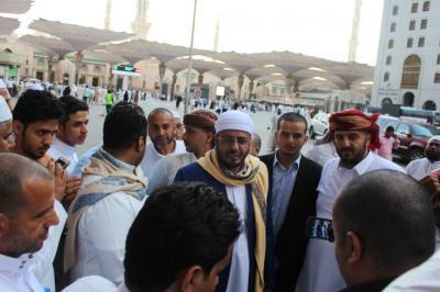 وزير الأوقاف يودّع الحجاج اليمنيين العائدين إلى أرض الوطن