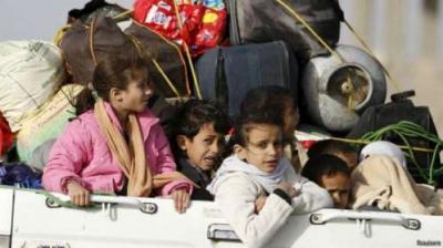 تقرير دولي : 2 مليون يمني تركوا ديارهم بسبب الحرب