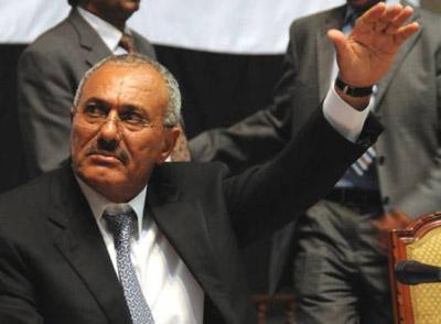 """الرئيس السابق """"صالح """" في خطابه بمناسبة ثورة 26 سبتمبر يعترف ولأول مره بما تسمى بثورة 21 سبتمبر"""