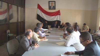 جباري يلتقي قيادات الأحزاب والتنظيمات السياسية في تعز
