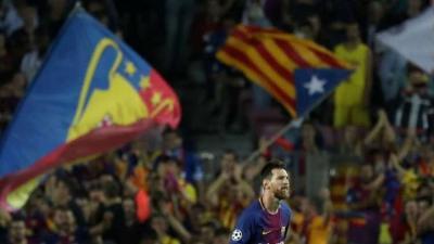أين سيلعب برشلونة في حالة انفصال كاتالونيا عن إسبانيا؟