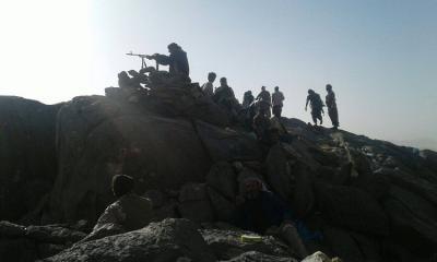 قوات الجيش تتقدم في صعدة وتسيطر على عدداً من المواقع ( أسماء المواقع)