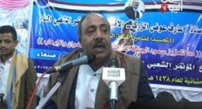 قبائل همدان تحتشد وتحذر الحوثيين من إستمرار إعتقال رئيس فرع المؤتمر