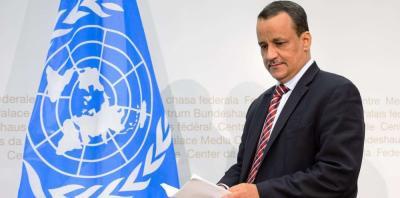 """صحيفة تكشف تفاصيل مبادرة """" ولد الشيخ """" الجديدة والتي تمهد لوقف الحرب وإتفاق السلام بين الأطراف اليمنية"""