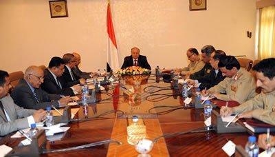 في إجتماعاً له مع اللجنة الأمنية العليا والمجلس الإقتصادي الأعلى .. رئيس الجمهورية  يوجه بإتخاذ مجموعة من الإجراءات