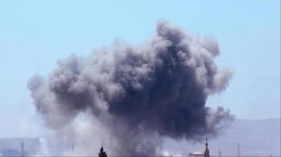 التحالف العربي يدمر مخازن أسلحة وعتاد عسكري للحوثيين قرب الحدود السعودية