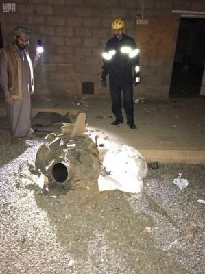 بالصور .. التحالف يعلن عن سقوط صاروخ باليستي على قرية سعودية .. والحوثيون يعلنون عن إسقاط طائرة حربية شرق صنعاء