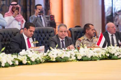 """أبرز ما قاله وزير الخارجية """" المخلافي في كلمته أمام وزراء الخارجية ورؤساء هيئات الأركان العامة لدول التحالف العربي"""