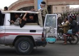 اشتباكات مسلحة في الصالة الكبرى بين مرافقي  الشيخ حميد الأحمر ومرافقي الشيخ دويد ( تفاصيل)
