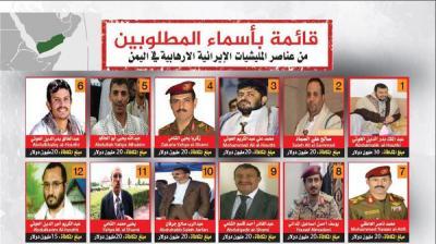 بالصور والأسماء .. السعودية ترصد مبالغ مالية كبيرة لمن يدلي بمعلومات عن هذه القيادات الحوثية