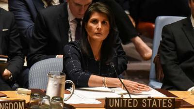واشنطن تقول بأن إيران خرقت قرارين لمجلس الأمن دفعة واحدة من بينها دعم الحوثيين بالصورايخ .