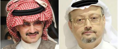 """الكاتب السعودي """" خاشقجي """" يكشف ماذا قال له الأمير وليد بن طلال قبل توقيفه"""