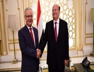 """الرئيس هادي يرفض إستقالة محافظ عدن """" المفلحي """""""