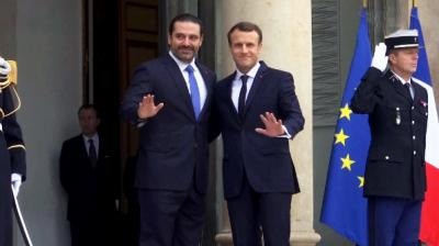 سعد الحريري يصل قصر الإليزيه بفرنسا.. ويتجه إلى لبنان الأربعاء