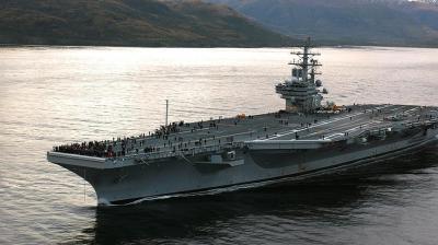 تحطم طائرة للبحرية الأمريكية على متنها 11 شخصا في المحيط الهادئ