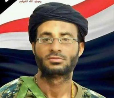 طارق محمد عبدالله صالح ينعي مقتل أحد أتباعه ( صوره)