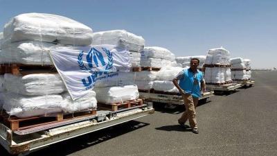 وصول طائرات إغاثة أممية إلى مطار صنعاء