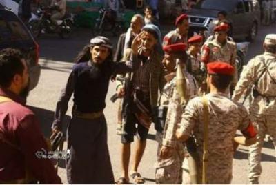 بالصور : توقف المواجهات في تعز بين فصيلين من المقاومة والشرطة العسكرية تتدخل