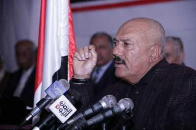 صالح في كلمته يهاجم كل من يخرج ضد الفساد ويصفهم بالمخربين ومثيري الفتنة ويبرر للحوثيين وما تسمى بحكومة الإنقاذ !