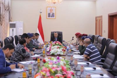 بن دغر يرأس اجتماعاً استثنائياً للجنة الأمنية والعسكرية في عدن