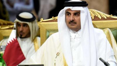 أمير قطر يتسلم دعوة من أمير الكويت إلى القمة الخليجية المقبلة